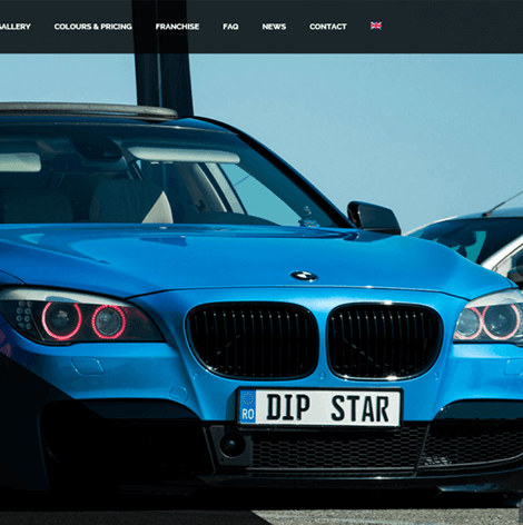 Dip-Star website de prezentare
