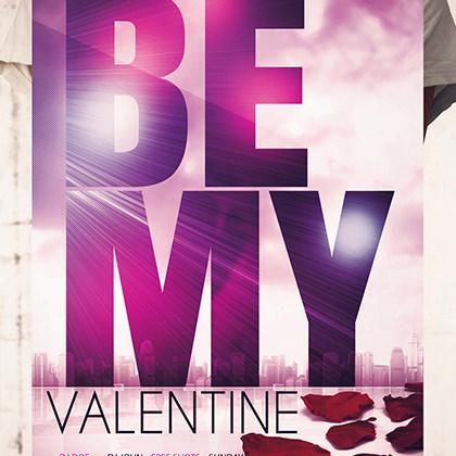 Design Poster A3 valentine's day