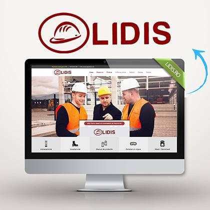 LIDIS – Website de prezentare produse
