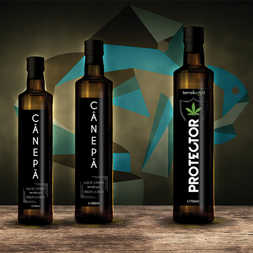 Design etichete print ready Terra Banat