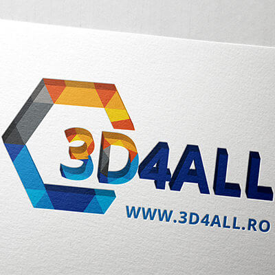Logo Design 3d4all.ro