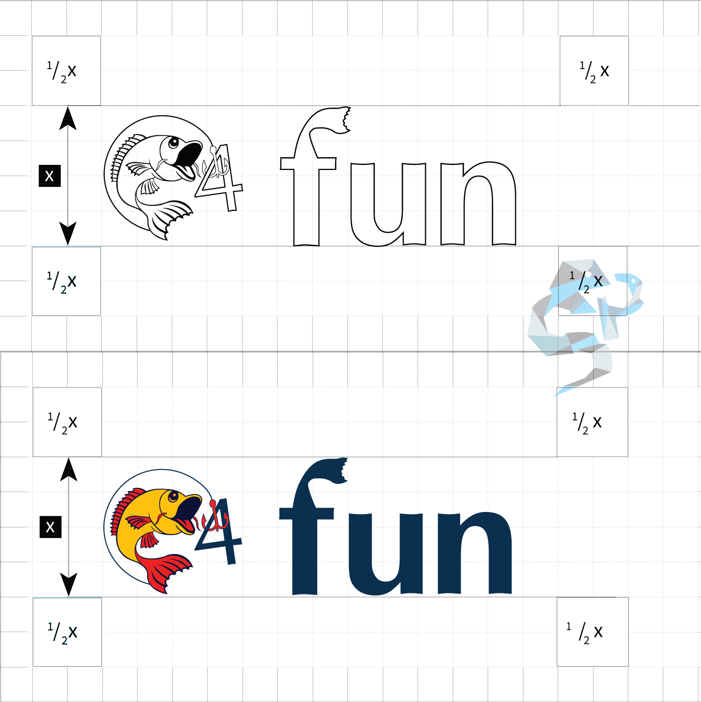 fish4fun logo design