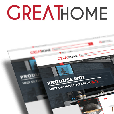 Redesign Greathome.ro