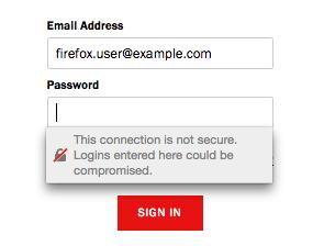 avertisment SSL mozilla firefox