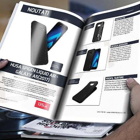 design revista catalog pdf pregatit de print
