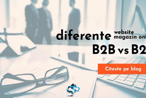 magazin online b2b vs b2c