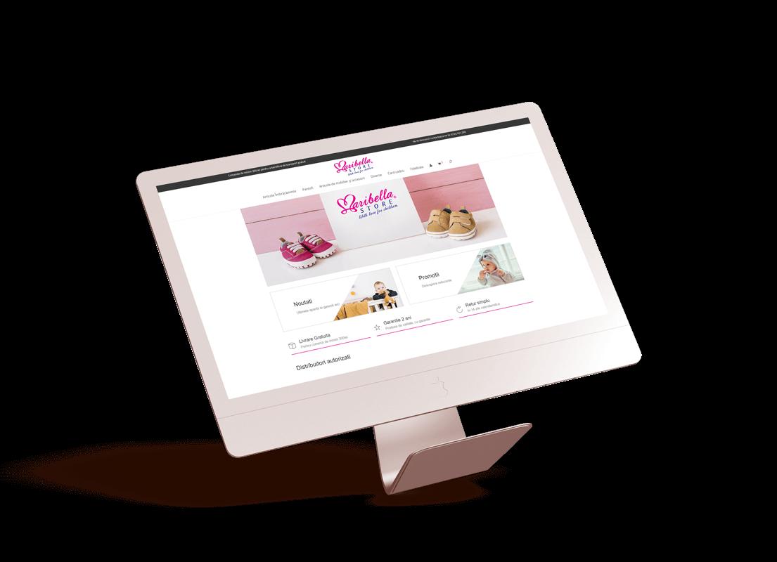 magazin online woocommerce romania web design