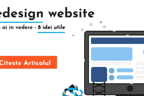redesign website romania agentie digitala