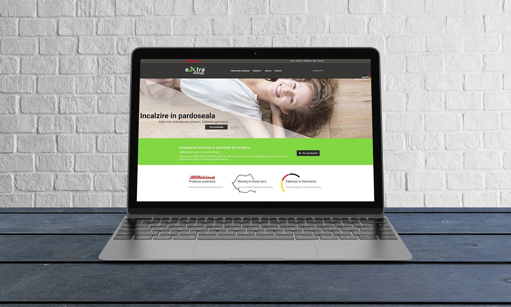 creare website premium de prezentare romania
