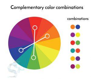 culori complementare logo design