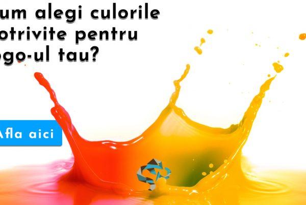 culorile potrivite pentru logo